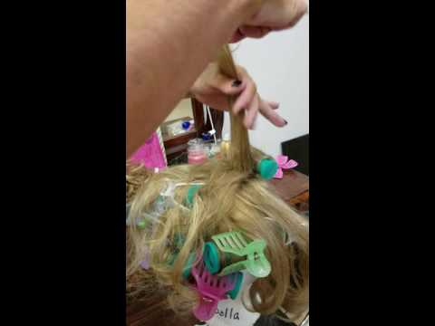 Pageant Hair rolling 101