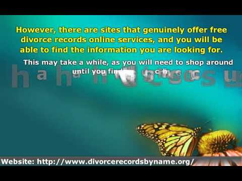 Find Out How to Get Easy and Free Access to Divorce Records
