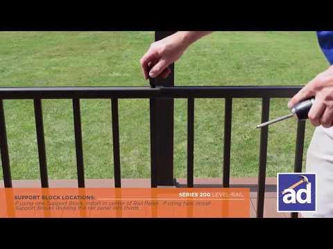 AFCO Series 200 Railing Installation