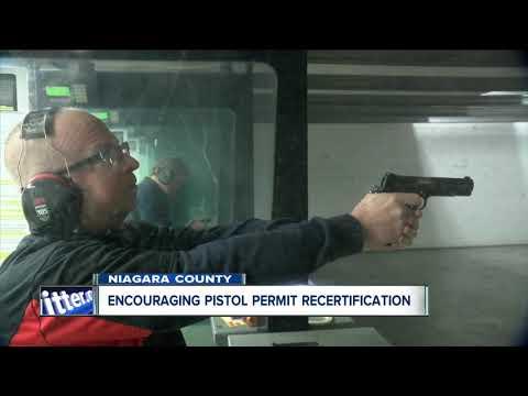 Niagara County encourages pistol permit recertification