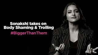 Sonakshi Sinha Opens Up on Body Shaming and Online Trolls #BiggerThanThem | Myntra Fashion Superstar