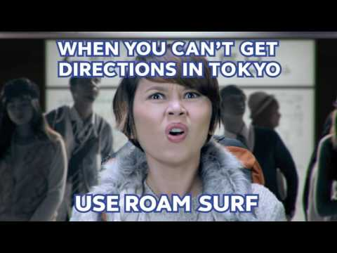 The one thing you need to find your way in Tokyo. Get Roam Surf.