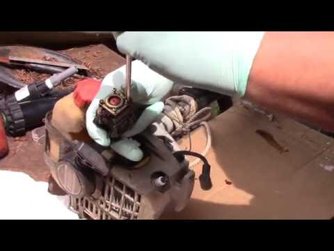 Free Echo Weed Eater Carb Cleaning How To!