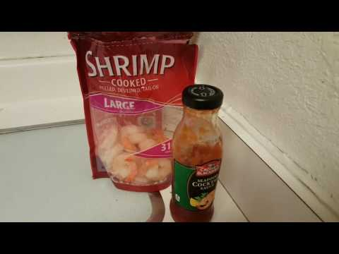Walmart brand frozen Shrimp review
