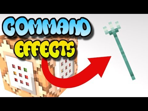 Minecraft Command Block Tutorial - Trident Effects - Bedrock Edition (Xbox One,Mcpe,Windows10)