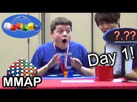 2013 Rubik's Cube World Championship: Day 1!