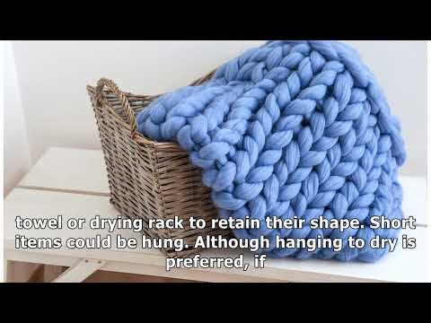 How to Wash Wool Blankets and Other Woolen Items