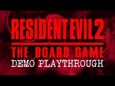 Resident Evil™ 2: The Board Game - Demo Playthrough