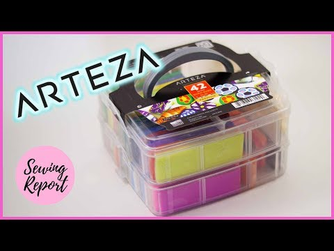 Arteza Polymer Clay Starter Kit Review + Demo | CRAFT SUPPLIES | SEWING REPORT