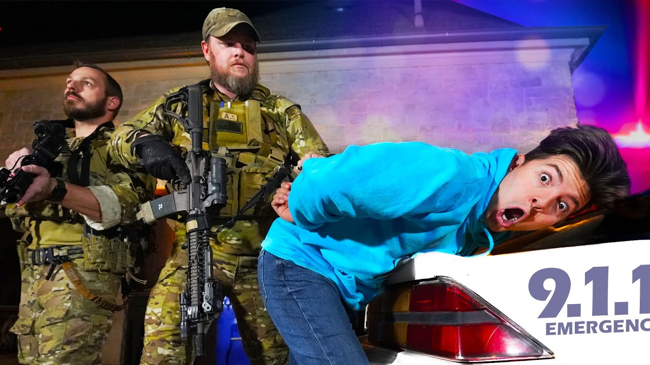 I Challenged an Actual SWAT Team to Hide and Seek at 3am...