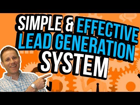 How To Build A Simple Lead Generation System [To Sell Digital Marketing Services]