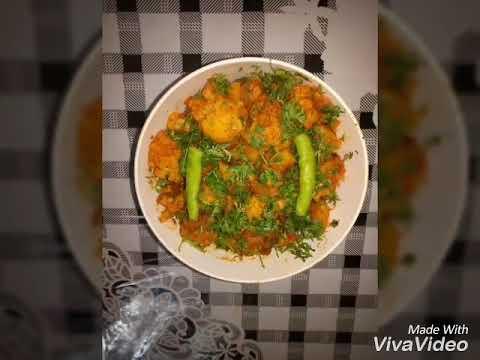 Gobi Aloo...  With the help of sanjeev kapoor's sabzi masala
