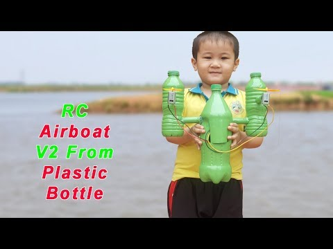 How to make a Air Boat from plastic bottle