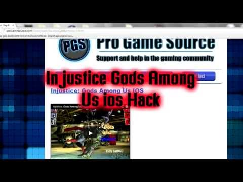 Injustice Gods Among Us []ios] ALL Heroes UNLIMITED Coins And Support Cards 100% Working