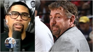 Jalen Rose reacts to James Dolan & the Knicks' silence on the recent protests   Jalen & Jacoby
