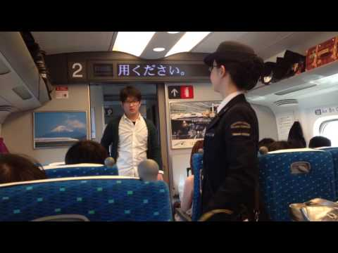 Nozomi Shinkansen from Shin-Osaka to Tokyo Station
