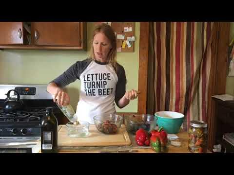 Preserving Peppers in oil & Vinegar