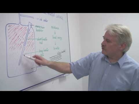 Energy & Electricity in Science : How Does an Electric Water Heater Work?