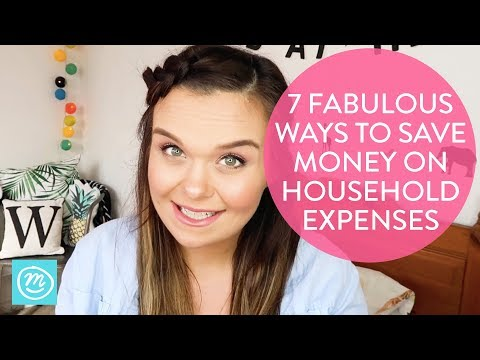 How To Save Money On Household Expenses | Channel Mum
