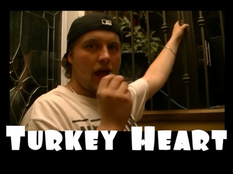 Eating A Turkey Heart?!