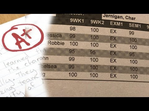 How To Get an A in EVERY Class **WITH PROOF!**