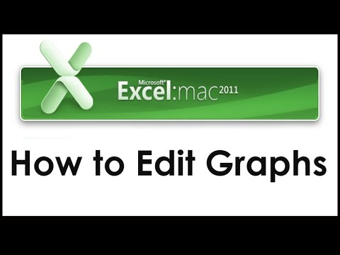 How to Edit Graphs in Excel 2011 for MAC