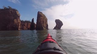 Kayaking The Bay Of Fundy In Nova Scotia