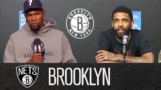 Kevin Durant & Kyrie Irving Hate The Media In Nets Conference (Parody)