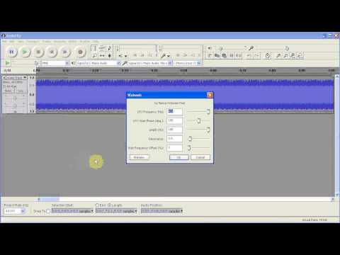 How to Make a Dubstep Wobble in Audacity