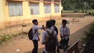 Khmer student fighting 4