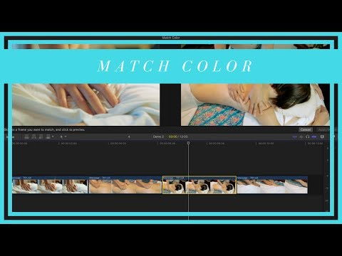 Match Color in Clips From Different Cameras - FCPX Color Correction Tutorial Part Three