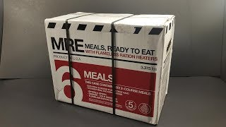 2017 Meal Kit Supply 2 Course MRE Review Lightweight Civilian Meal Ready to Eat Taste Test