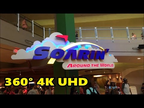 360 4K Ride on Soarin' Around the World at Epcot | Walt Disney World