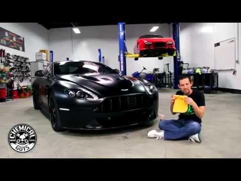 How To Clean Carbon Fiber - Chemical Guys Hybrid V7 Aston Martin