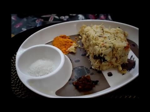 Tasty Semiya-Rava Upma  Vermicelli-SoojiRava Upma-Tiffin Recipe At Home