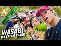 WASABI Ice Cream PRANK On Fam Friends Ranz And Niana