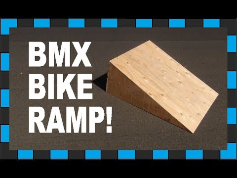 How To Build A Ramp!