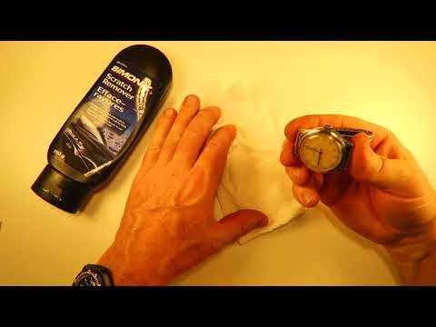 How to Remove (Deep) Scratches from A Watch Crystal (Acrylic/Hesalite Crystal)