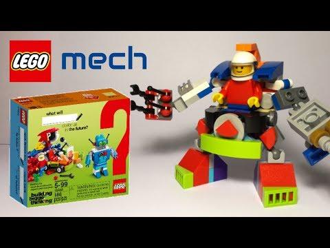 LEGO mech - 10402 alternative build