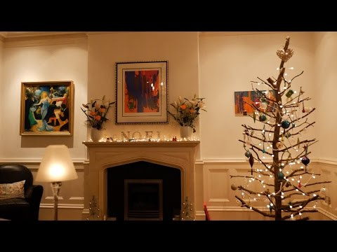 How to make a wooden Christmas tree - time lapse
