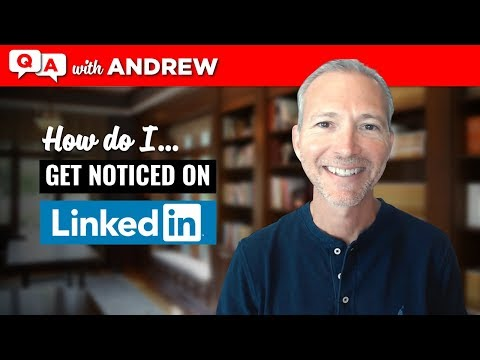 LinkedIn Tip: How to Get Noticed: Andrew LaCivita's CoachCast Clip 006