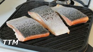 How To Cook Salmon On A Stove Top Cast Iron Grilleasy Cooking