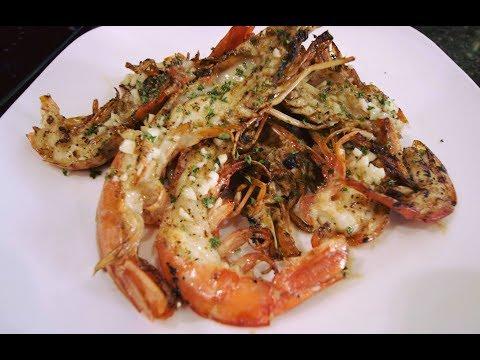 Grilled Cajun Red Shrimp