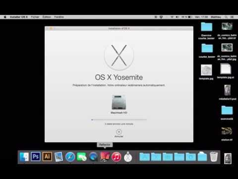 Installer OS X 10.10 Yosemite sur son Mac gratuitement