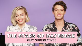 Netflix's Daybreak Cast Reveals Who's Most Likely to Send a Risky Text and More   Superlatives