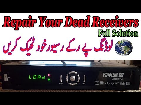HOW TO REPAIR DEAD RECEIVER WHICH ON LOADING- RED LIGHT - PakVim net