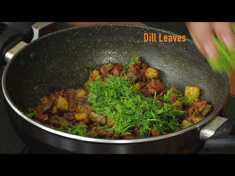 Turnip Liver Kheema Curry / சீமைச் சிவப்பு முள்ளங்கி ஈரல் ஃப்ரை - TAMIL