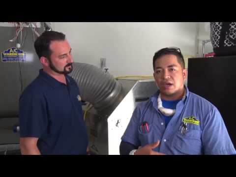 Air conditioning duct cleaning AC Warehouse Tampa