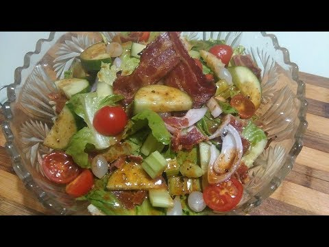 CLEARLY CANADIAN ~ CAESAR COCKTAIL SALAD - CANADA DAY VIDEO I