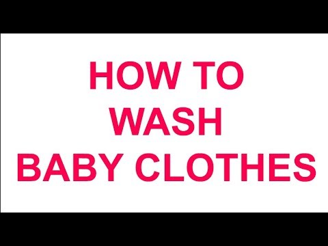 HOW TO WASH BABY CLOTHES | JUST FILTER COFFEE